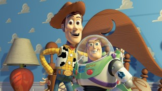 Woody and Buzz's friendship is at the heart of the movie